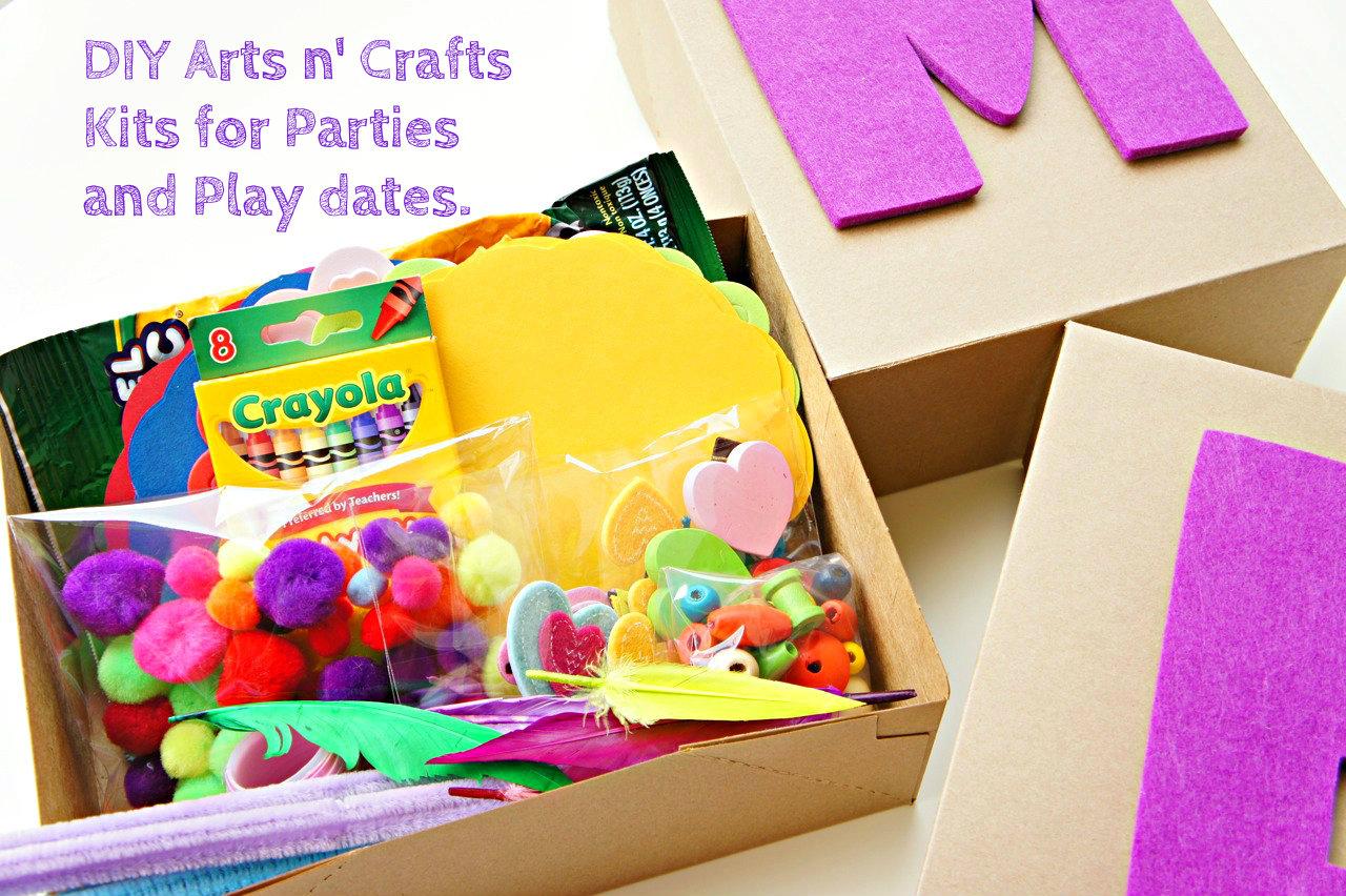 DIY Arts and Crafts Kits for Kids - Bebe and Bear